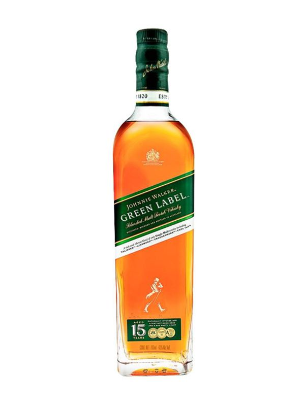 It is a photo of Peaceful Green Label Alcohol Percentage